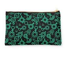 Crop Circles (Green Lines) Studio Pouch