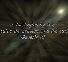 """""""Genesis 1:1"""" by Carter L. Shepard""""  by echoesofheaven"""