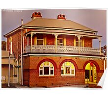 Wingham Post Office At Dusk Poster