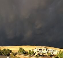 Smoke From The Butte Fire by Laurie Puglia