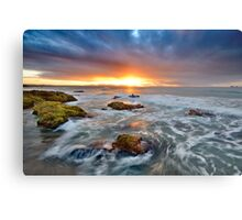 Last surf for a day Metal Print