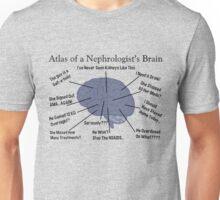 Atlas of a Nephrologist's Brain Unisex T-Shirt