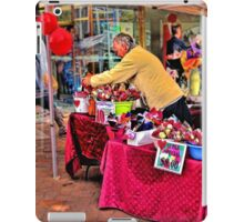 The Rose Seller iPad Case/Skin