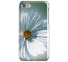 shining white iPhone Case/Skin