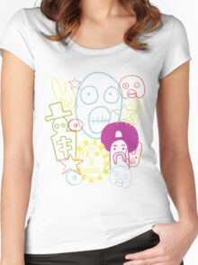 A Journey Through Time And Space Women's Fitted Scoop T-Shirt