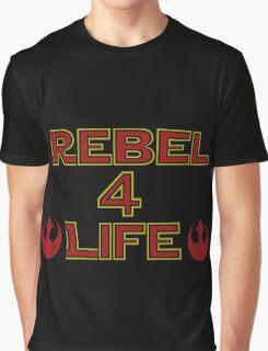 Rebel Alliance: Rebel 4 life Graphic T-Shirt