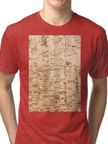 Cork oak pattern Tri-blend T-Shirt