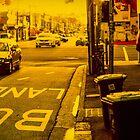 Bus lane on Johnson Street by John Violet