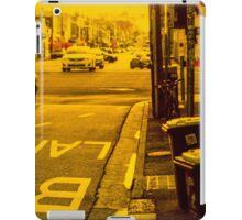 Bus lane on Johnson Street iPad Case/Skin