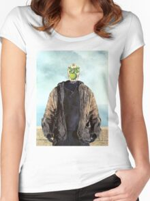"""Jason Vorhees in """"The Son of a Man"""" Women's Fitted Scoop T-Shirt"""