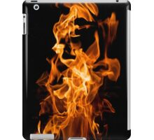 Orange flame iPad Case/Skin