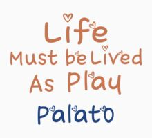 ╚»★Plato's Motivational Quote Clothing & Stickers & Cases & Tote Bags & Home Decor & Stationary★«╝ One Piece - Short Sleeve