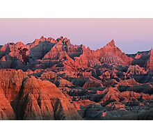 Badlands Dreaming Photographic Print