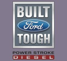 Built Ford Tough PowerStroke Diesel Kids Tee
