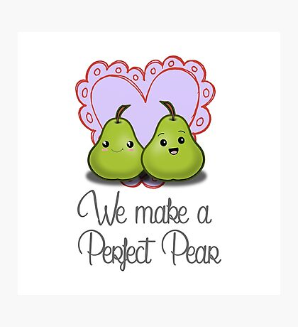 We make a Perfect Pear Photographic Print