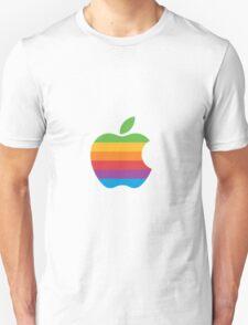 Rainbow Apple Logo T-Shirt
