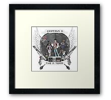 Captain N The Game Master Framed Print