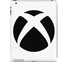 Xbox Black Logo iPad Case/Skin