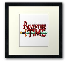 Classic Adventure Time Framed Print