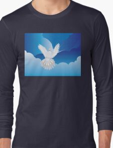 Dove in the Sky Long Sleeve T-Shirt