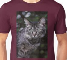 """Chat - Cat """" Tchink boom"""" 04 (c)(t) ) by Olao-Olavia / Okaio Créations 300mm f.2.8 canon eos 5 1989  Unisex T-Shirt"""