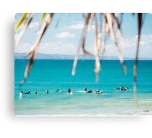 Between the Sets : First Point, Noosa Canvas Print