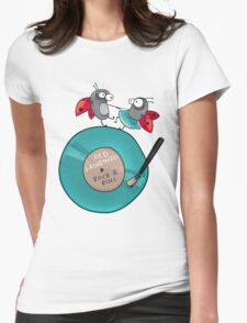Rock'n'roll ladybirds Womens Fitted T-Shirt