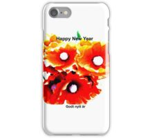 Norge Happy New Year iPhone Case/Skin