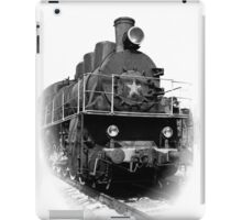 Vintage steam locomotive iPad Case/Skin