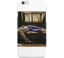 Henry Wallis - The Death of Chatterton . iPhone Case/Skin