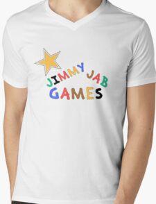 Jimmy Jab Games Mens V-Neck T-Shirt