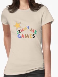 Jimmy Jab Games Womens Fitted T-Shirt