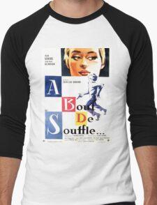 A bout de souffle (Breathless) - Jean-Luc Godard Men's Baseball ¾ T-Shirt