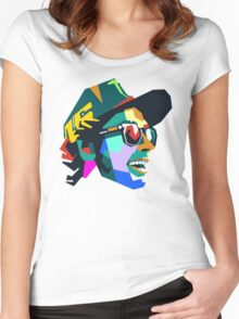 VR46 Women's Fitted Scoop T-Shirt