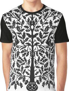 Oak Papercut Graphic T-Shirt