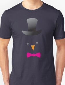 cute bird face in a top hat T-Shirt