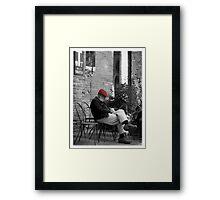 Siesta in Tuscany Framed Print