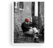 Siesta in Tuscany Canvas Print