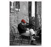Siesta in Tuscany Photographic Print
