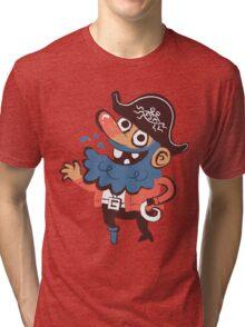 Cap'n Bluebeard Tri-blend T-Shirt