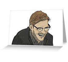 The Boss - Jurgen Klopp - LFC - The Normal One Greeting Card