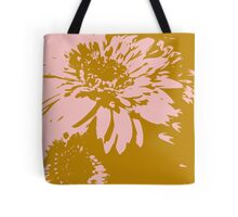 New Year wishes with the flower of Daisy 2 Tote Bag