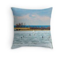 Niagara - Hockey Lives Throw Pillow