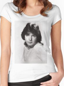 David Cassidy by John Springfield Women's Fitted Scoop T-Shirt