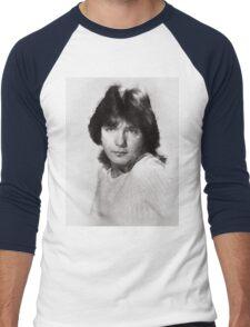 David Cassidy by John Springfield Men's Baseball ¾ T-Shirt