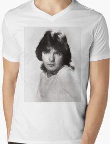 David Cassidy by John Springfield Mens V-Neck T-Shirt