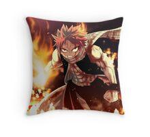Fairy Tail natsu epic natsu Throw Pillow