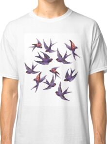 Winter swallows Classic T-Shirt