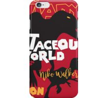Cretaceous World - Grindhouse iPhone Case/Skin