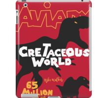 Cretaceous World - Grindhouse iPad Case/Skin